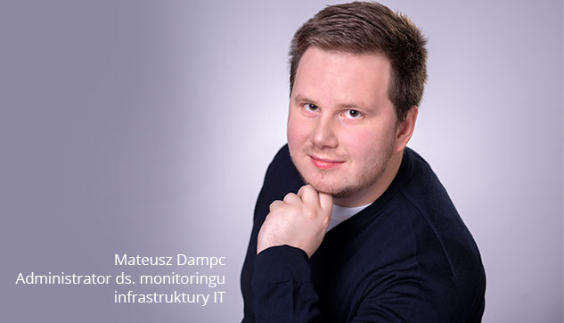 Administrator ds. Monitoringu Infrastruktury IT Mateusz Konsulting do systemu monitoringu IT