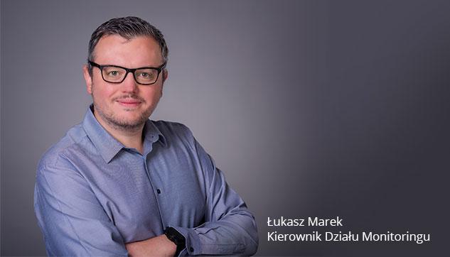 Kierownik Działu Monitoringu Łukasz Outsourcing Usług IT Monitoring Systemów IT rabbIT Zabbix