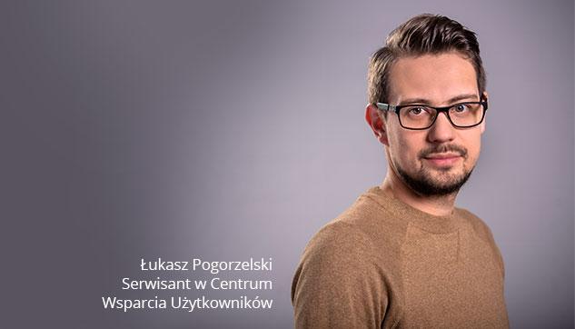 Serwisant w Centrum Wsparcia Użytkowników Łukasz Outsourcing Usług IT Opieka informatyczna