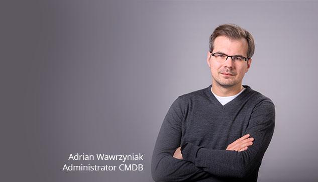Administrator CMDB Adrian Outsourcing Usług IT Infrastruktur Serwerowa