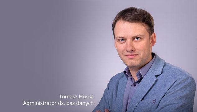 Administrator ds. baz danych Tomasz Outsourcing Usług IT Infrastruktura Sieciowa