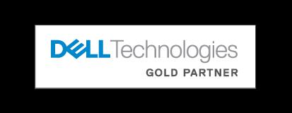 Logo duże Dell Gold Partner Aplitt