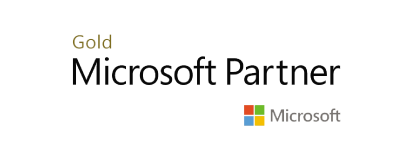 Logo duże Microsoft Gold Partner Aplitt