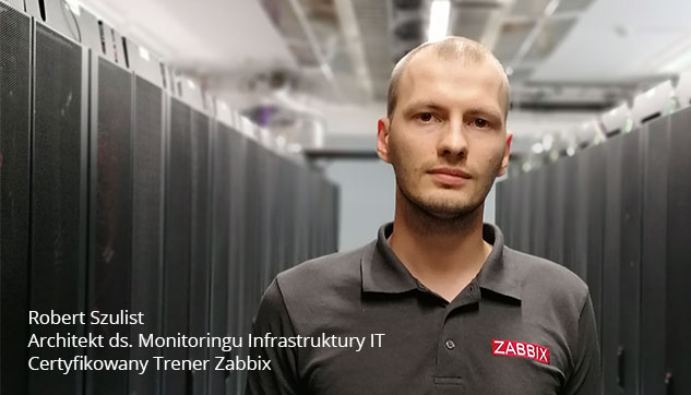 Trener Robert Szkolenia Zabbix Monitoring Systemów IT